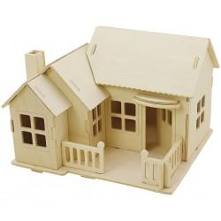 CC KIT CONSTRUCTIE CASA LEMN 3D 57875/57878