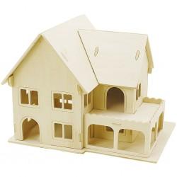 CC KIT CONSTRUCTIE CASA LEMN 3D 57876/57878