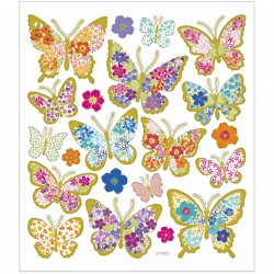 CC STICKER DECOR BUTTERFLIES 29081