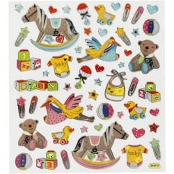 CC STICKER DECOR BABY 29PC 27194
