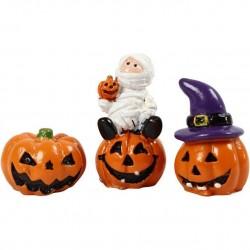 Cc Figurine Decor Halloween 1.5 - 3.5cm 3/set 69989