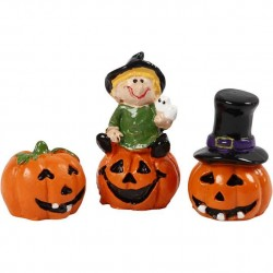 Cc Figurine Decor Halloween 1.5 - 3.5cm 3/set 69991
