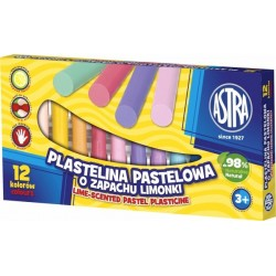 AS PLASTILINA PASTEL 303114001 12/SET