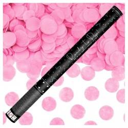 PD CONFETTI, Confetti cannon, Ready to pop, pink, 60cm TUKR60-081