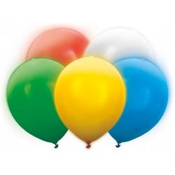 Pd Baloane Led Balloons 30cm, Mix 5/set Bl12-3-000