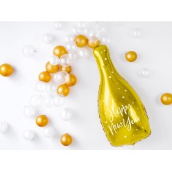 Pd Balon Folie Aluminiu Bottle - Happy New Year, 32 X 82cm Fb54m-019