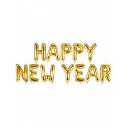 Pd Balon Folie Aluminiu Happy New Year, 46cm Fb49m-019