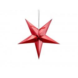 Pd Steluta Din Hartie, Paper Star, 45cm, Red Gwp1-45-007m