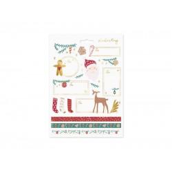 Pd Sticker Decor Christmas, Santa, Mix Np4