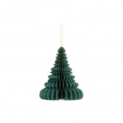 Pd Ornament Suspendat Hartie, Christmas Tree, Botle Green, 24cm Bp3-24-012b