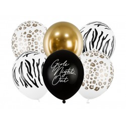 PD BALOANE Balloons 30cm, Girls Night Out, mix 6/SET SB14P-303-000-6