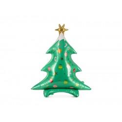 Pd Balon Folie Aluminiu Christmas Tree, Mix, 78x94cm Fb114