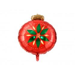 Pd Balon Folie Aluminiu Christmas Bauble, Mix, 45x45cm Fb115