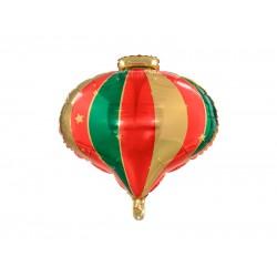 Pd Balon Folie Aluminiu Christmas Bauble, Mix, 51x49cm Fb116