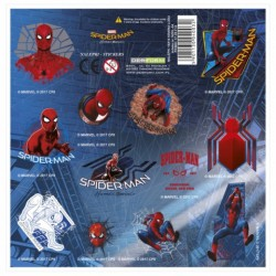 DE STICKER SPIDERMAN NZSH