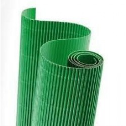 As Carton Ondulat 50*70cm Verde 113021007