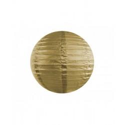 Pd Felinar De Hartie Gold, 25cm Lap25-019