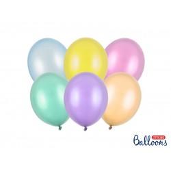 Pd Baloane Strong Balloons 23cm, Pearly Mix, 100/set Sb10m-000p
