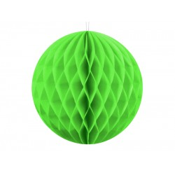 PD ORNAMENT SUSPENDAT HARTIE, Honeycomb Ball, apple green, 10cm KB10-102J