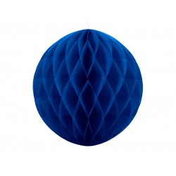 PD ORNAMENT SUSPENDAT HARTIE, Honeycomb Ball, navy blue, 20cm KB20-074