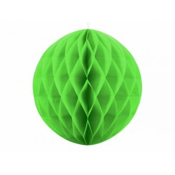 PD ORNAMENT SUSPENDAT HARTIE, Honeycomb Ball, apple green, 30cm KB30-102J