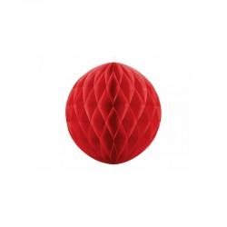Pd Ornament Suspendat Hartie, Honeycomb Ball, Red, 40cm Kb40-007