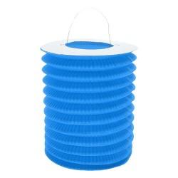 God Lampion De Hartie Roller, Blue, 15cm Pf-ldwni