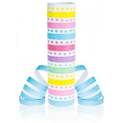 God Cordon Hartie Streamer Dots And Stripes, Rainbow, 4m Pf-sgpte