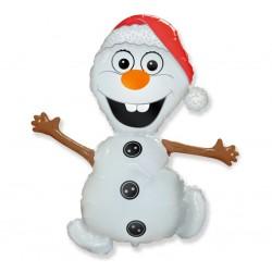 God Balon Folie Aluminiu Frozen Snowman, 61cm 901516