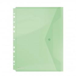 OVM MAPA PLASTIC DONAU A4 CU CAPSA SI PERFORATII VERDE 8540001PL-06