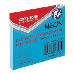 OVM POST IT OFFICE 76*76 ALBASTRU NEON 14046611-01