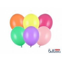 PD BALOANE Strong Balloons 23cm, Pastel Mix, 50/SET SB10P-000-50