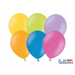 PD BALOANE Strong Balloons 27cm, Pastel Mix, 10/SET SB12P-000-10