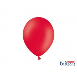 PD BALOANE Strong Balloons 27cm, Pastel Poppy Red, 10/SET SB12P-007J-10