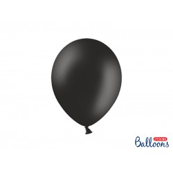 PD BALOANE Strong Balloons 27cm, Pastel Black, 10/SET SB12P-010-10