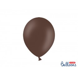 PD BALOANE Strong Balloons 27cm, Pastel Cocoa Brown, 10/SET SB12P-032Z-10