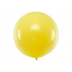 Pd Balon Round Balloon 1m, Pastel Yellow Olbo-006