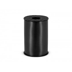 PD RAFIE ribbon, black, 5mm/225m PRP5-010