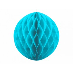 PD ORNAMENT SUSPENDAT HARTIE, Honeycomb Ball, turquoise, 30cm KB30-083