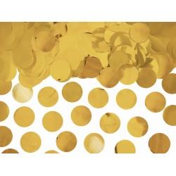 Pd Confetti, Confetti Circles, Gold Foil, 15g Kons45-019