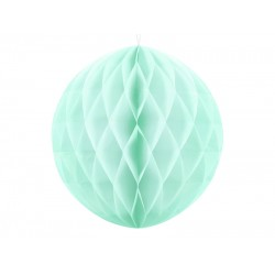 PD ORNAMENT SUSPENDAT HARTIE, Honeycomb Ball, light mint, 30cm KB30-103J