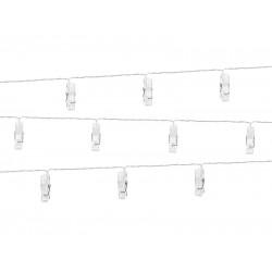 Pd Lumini Decorative Led Cu Clips De Prindere, Clear, 1.4m Ledc3