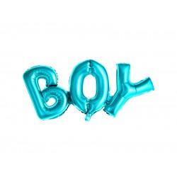 Pd Balon Folie Aluminiu Boy, 67x29cm, Blue Fb8m-001