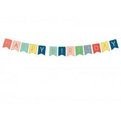 Pd Banner Happy Birthday, Mix, 15 X 175 Cm Grl56