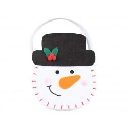 God Gentuta Pasla Om De Zapada Snowman Elegant 15*19.5cm Nw-kfbe