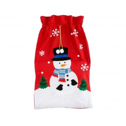 God Sac Mos Craciun Snowman Christmas Bag, 70*100cm Nw-wosb