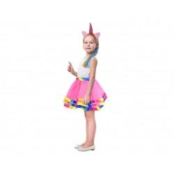 God Costum Pt Copii Unicorn With Pony Zjeku-ob
