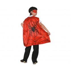 God Capa Pt Copii Spider+ Masca 110/120 Cm Sl-pj11