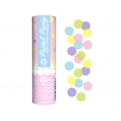 God Confetti Confetti Cannon Pastel Party, Multicolour Paper Circles, 15cm Jc-kppp15