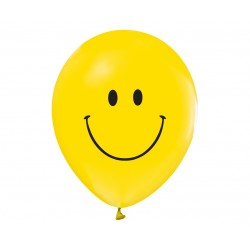 God Baloane Latex Smile 30cm 5/set Gz-usm5